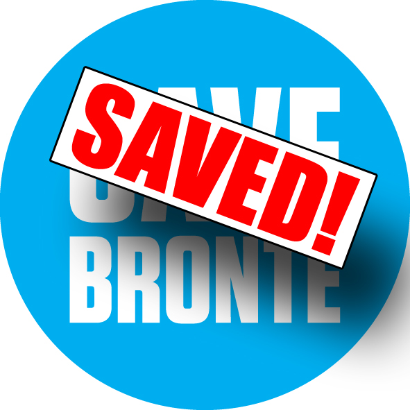 Save Bronte - saved